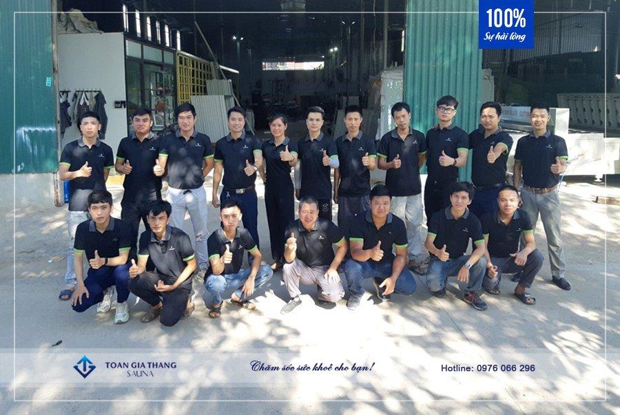 đội ngũ kỹ thuật của Toàn Gia Thắng