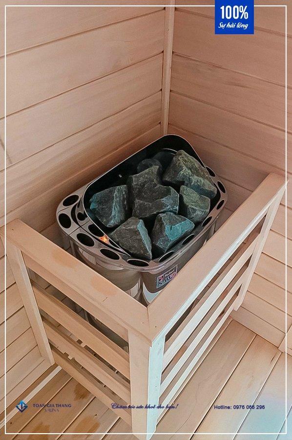 Phòng xông hơi khô gỗ Hemlock